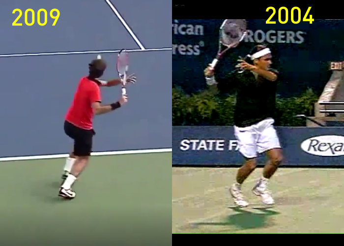 How Has Federer S Forehand Changed Tactical Tennis